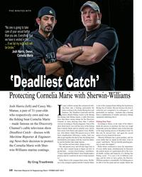Maritime Reporter Magazine, page 10,  Feb 2015