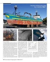 Maritime Reporter Magazine, page 12,  Feb 2015