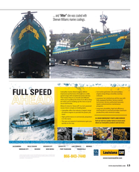Maritime Reporter Magazine, page 13,  Feb 2015