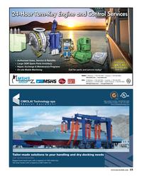 Maritime Reporter Magazine, page 15,  Feb 2015