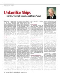 Maritime Reporter Magazine, page 18,  Feb 2015