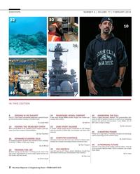 Maritime Reporter Magazine, page 2,  Feb 2015