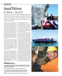 Maritime Reporter Magazine, page 38,  Feb 2015