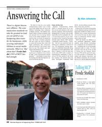 Maritime Reporter Magazine, page 40,  Feb 2015
