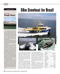 Maritime Reporter Magazine, page 50,  Feb 2015