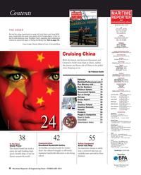 Maritime Reporter Magazine, page 4,  Feb 2015