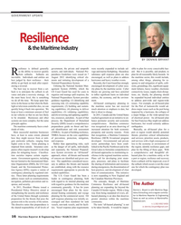 Maritime Reporter Magazine, page 16,  Mar 2015
