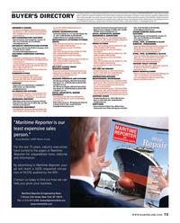 Maritime Reporter Magazine, page 73,  Mar 2015