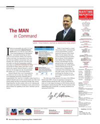 Maritime Reporter Magazine, page 6,  Mar 2015