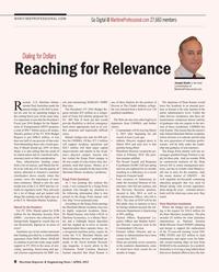 Maritime Reporter Magazine, page 8,  Apr 2015