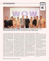 Maritime Reporter Magazine, page 10,  Apr 2015