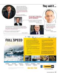 Maritime Reporter Magazine, page 13,  Apr 2015