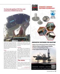 Maritime Reporter Magazine, page 21,  Apr 2015