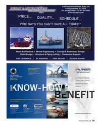 Maritime Reporter Magazine, page 35,  Apr 2015