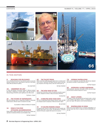 Maritime Reporter Magazine, page 2,  Apr 2015