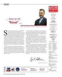 Maritime Reporter Magazine, page 6,  Apr 2015