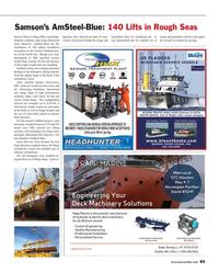 Maritime Reporter Magazine, page 85,  Apr 2015