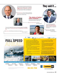 Maritime Reporter Magazine, page 13,  May 2015
