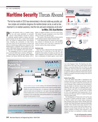 Maritime Reporter Magazine, page 14,  May 2015