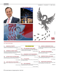 Maritime Reporter Magazine, page 2,  May 2015