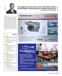 Maritime Reporter Magazine, page 45,  May 2015