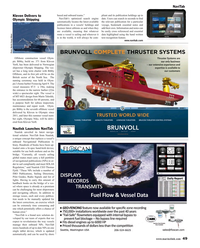 Maritime Reporter Magazine, page 49,  May 2015
