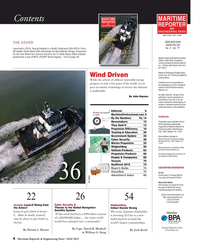 Maritime Reporter Magazine, page 4,  May 2015