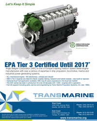 Maritime Reporter Magazine, page 4th Cover,  May 2015