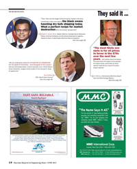 Maritime Reporter Magazine, page 14,  Jun 2015