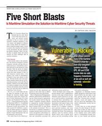 Maritime Reporter Magazine, page 22,  Jun 2015
