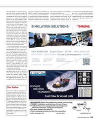 Maritime Reporter Magazine, page 25,  Jun 2015
