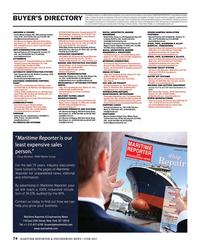 Maritime Reporter Magazine, page 74,  Jun 2015