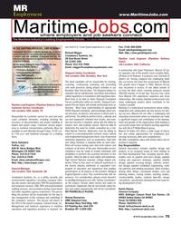 Maritime Reporter Magazine, page 75,  Jun 2015