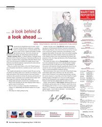 Maritime Reporter Magazine, page 6,  Jun 2015