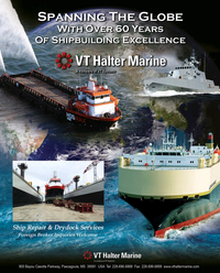 Maritime Reporter Magazine, page 3rd Cover,  Jun 2015