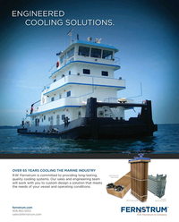 Maritime Reporter Magazine, page 4th Cover,  Aug 2015