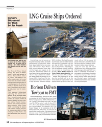 Maritime Reporter Magazine, page 10,  Aug 2015