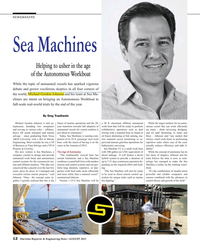 Maritime Reporter Magazine, page 12,  Aug 2015