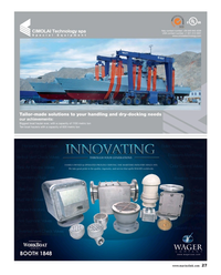 Maritime Reporter Magazine, page 27,  Aug 2015
