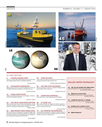 Maritime Reporter Magazine, page 2,  Aug 2015