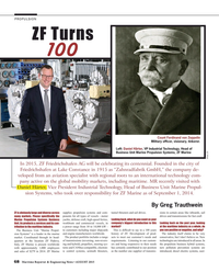 Maritime Reporter Magazine, page 68,  Aug 2015