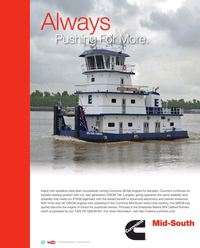 Maritime Reporter Magazine, page 3rd Cover,  Aug 2015