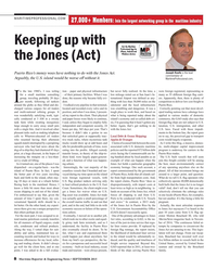 Maritime Reporter Magazine, page 8,  Sep 2015