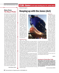 Maritime Reporter Magazine, page 10,  Sep 2015