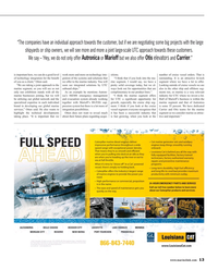 Maritime Reporter Magazine, page 13,  Sep 2015