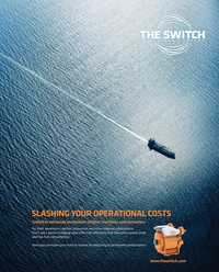 Maritime Reporter Magazine, page 2nd Cover,  Sep 2015