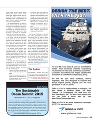 Maritime Reporter Magazine, page 25,  Sep 2015