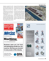 Maritime Reporter Magazine, page 35,  Sep 2015