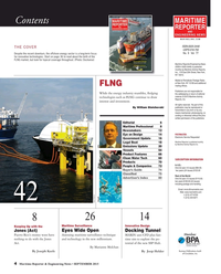 Maritime Reporter Magazine, page 4,  Sep 2015
