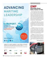 Maritime Reporter Magazine, page 62,  Sep 2015